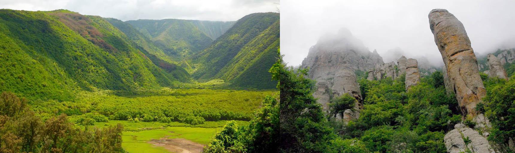 Долины как элементы рельефа местности